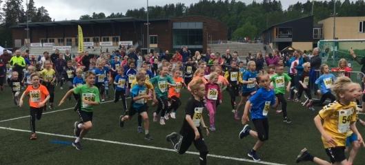 For en fantastisk løpsfest!