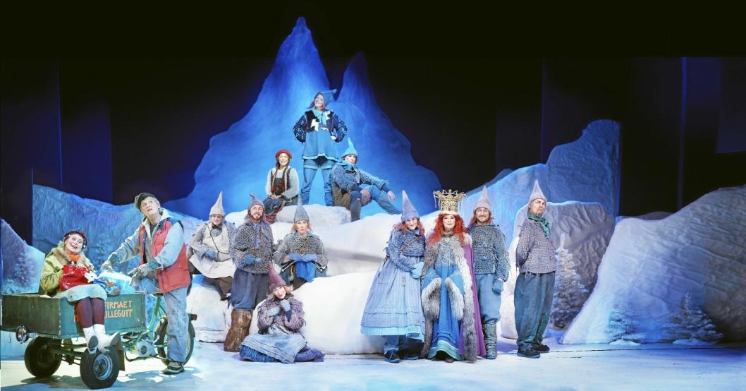 KOSELIG: Espen Bråten Kristoffersen spilte også i sceneversjonen av Jul I Blåfjell.