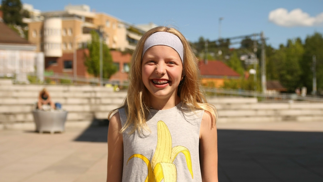Celina Schulz (12)Kolbotn: – I sommerferien skal jeg til syden med familien min, og i tillegg skal jeg også på hytta til Tyra.