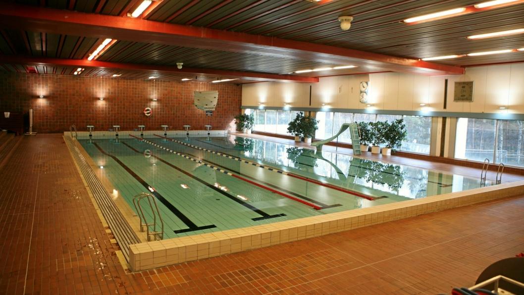 ÅPNER IGJEN: I helgen kan du kose deg i vannet i Sofiemyr svømmehall.