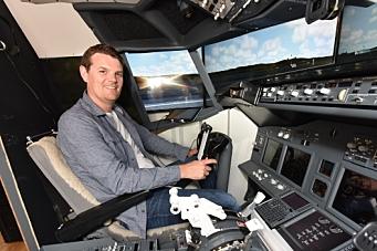 Han har en Boeing 737-800 - på gutterommet!