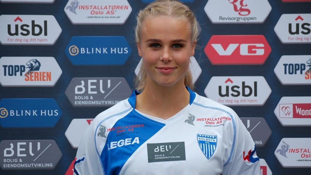 KLAR FOR SEIER: Nora EIde Foss er klar for å blø for drakten mot topplaget Stabæk til helgen.
