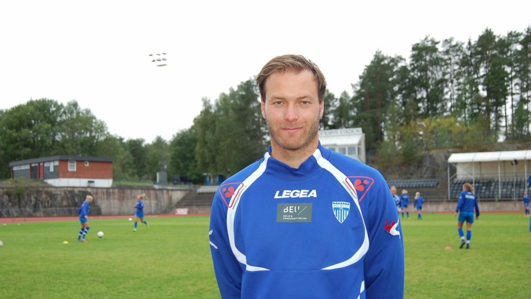 REVANSJE: Trener Knut Slatleim ser fram til kampen neste lørdag.