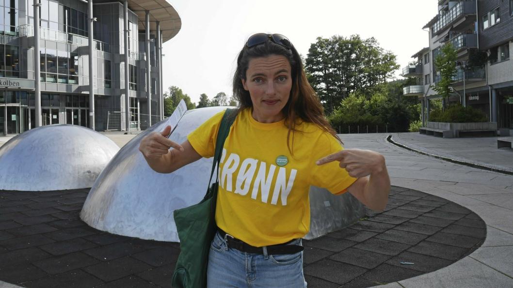 MUSIKK OG POLITIKK: Maja S. K. Ratkje fra Svartskog er klar for å gå hele veien til Stortinget om velgerne i Akershus gir henne stemmen. Hun står på fjerdeplass på MDGs Akershus-liste.