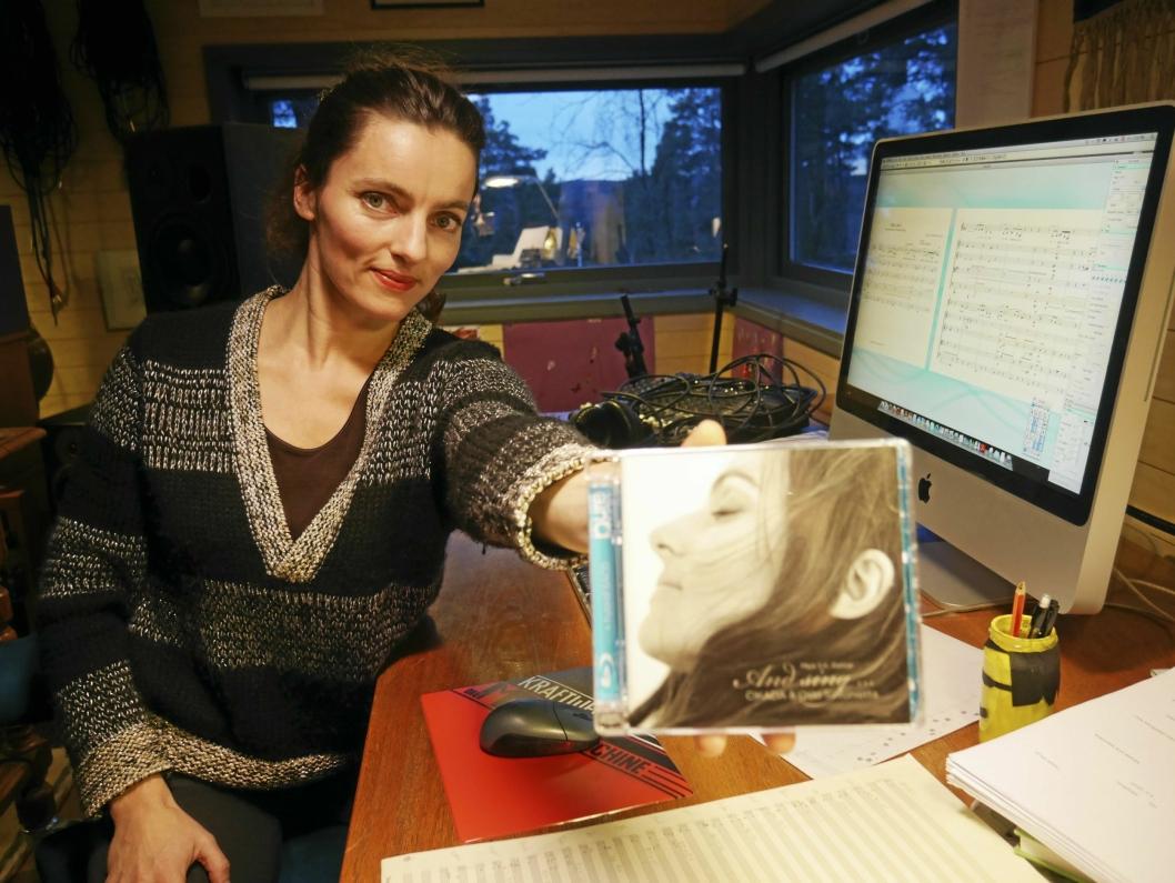 GRAMMYNOMINERT: Maja S. K. Ratkje er en dyktig produsent og musiker, og har blant annet blitt nominert en en Grammy-pris..