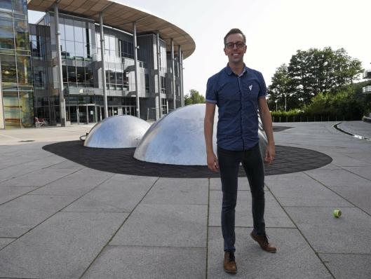 KLAR FOR REGJERINGSSKIFTE: Nicholas Wilkinson fra Oppegård er stortingskandidat på førsteplass for SV..