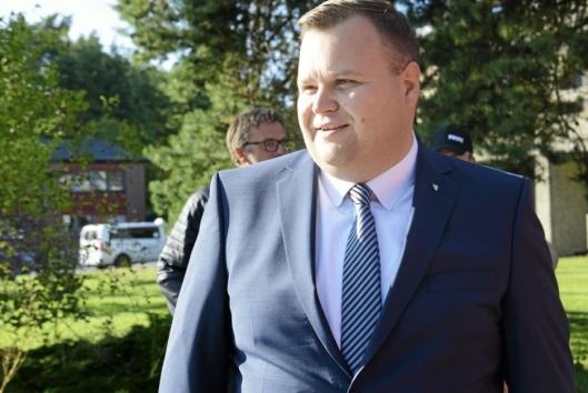 OPPFORDRER TIL Å STEMME: Ordfører Thomas Sjøvold, håper valgdeltakelsen er like bra i år som tidligere år.