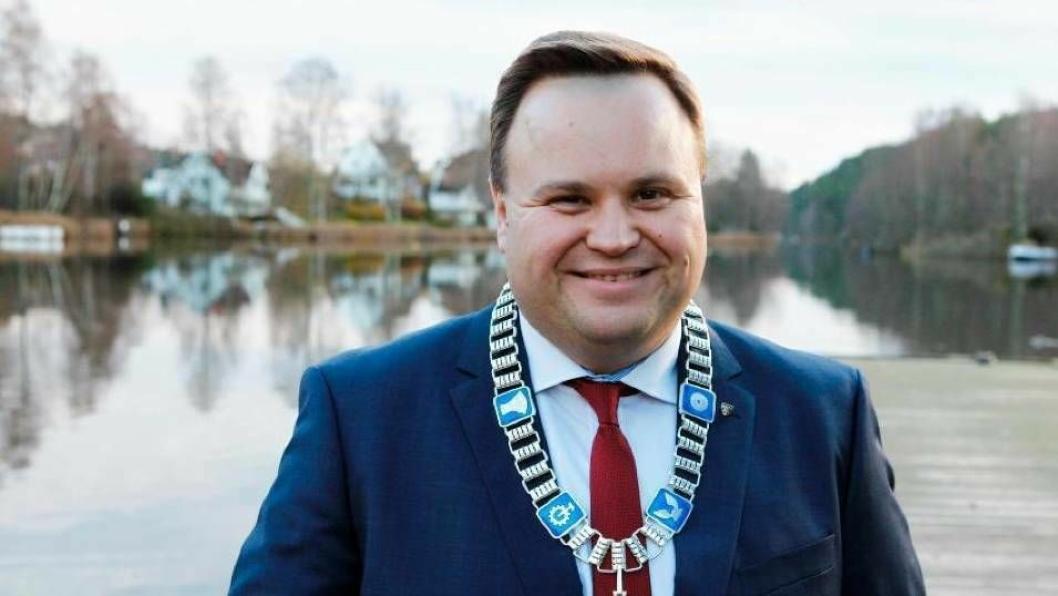SPENT: Ordfører Thomas Sjøvold