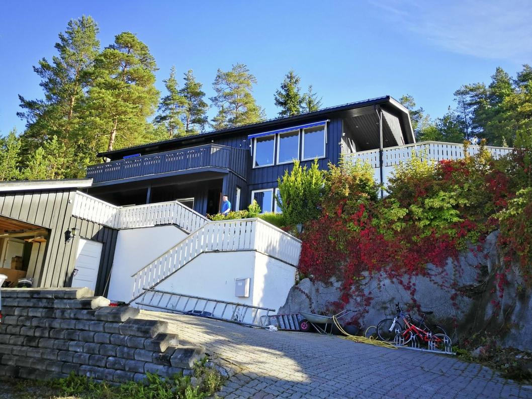 NEST DYREST: Denne boligen i Monrad Johansens vei 16 ble solgt for kr 8.650.000 i august, som gjør den til månedens nest dyreste bolig omsatt i Oppegård.