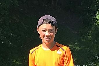 Jon William er sølvgutten i tennis
