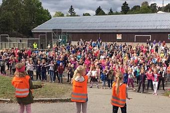 Se Greverud skole danse BlimeE-dansen!