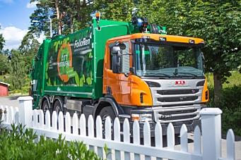 Nye biogassbiler henter avfallet ditt fra mandag