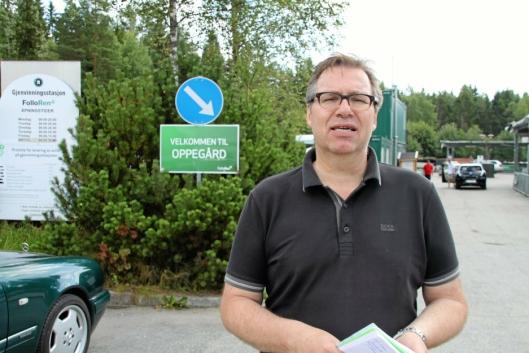 FORNØYD: Runar Jacobsen, daglig leder i Follo Ren.
