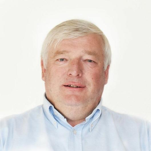 KLAR FOR JOBBEN: Driftssjef Roy asheim NordRen.