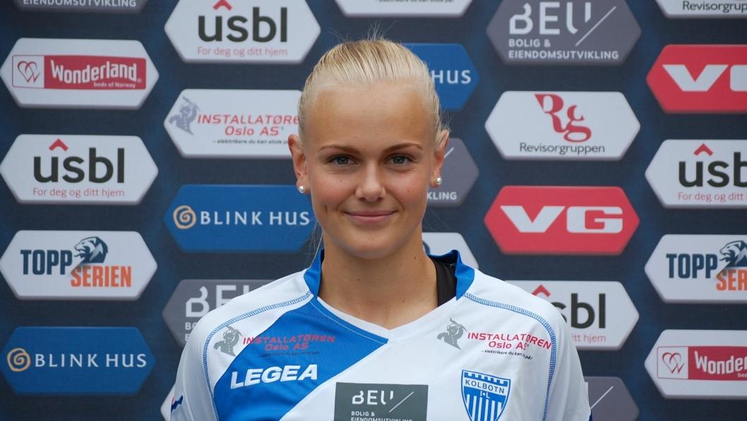 KLAR FOR U23: Karia Sævik skal nok en gang spille med flagget på brystet.