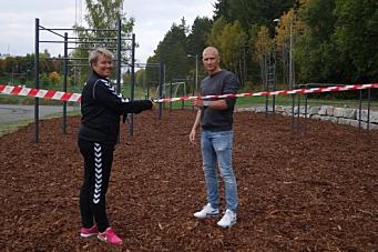 Tufteparken er endelig åpen for alle