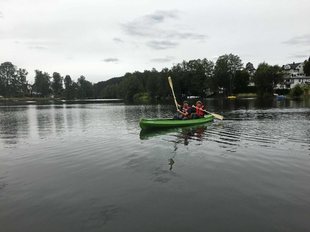 NYTT: I sommer fikk BUA også endelig et etterlengtet tilbud, nemlig kano!
