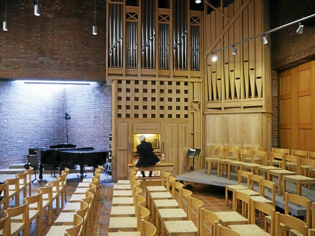 MEKTIG: Orgelet i Sofiemyr kirke er et mesterverk i seg selv.