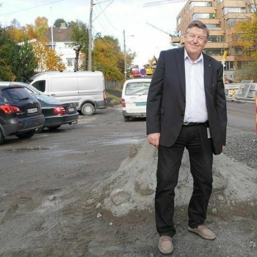 KOMMENTERER: Kjell G. Pettersen er leder i UMP og kommunens varaordfører. Her svarer på han på naboenes beskrivelse av situasjonen i Ormerudveien.