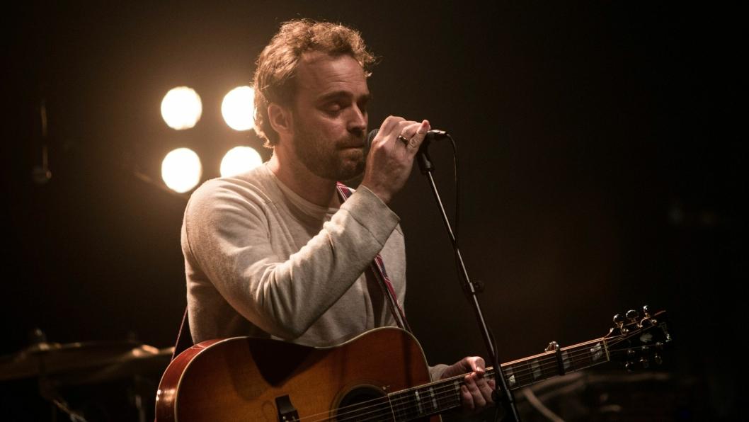 Vokalist Pål Angelskår under en konsert på Rockefeller i Oslo i januar i år.