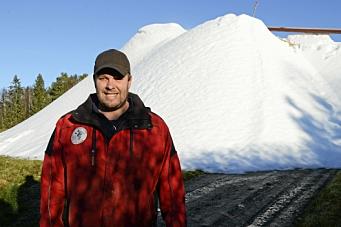 Kongen på snøhaugen