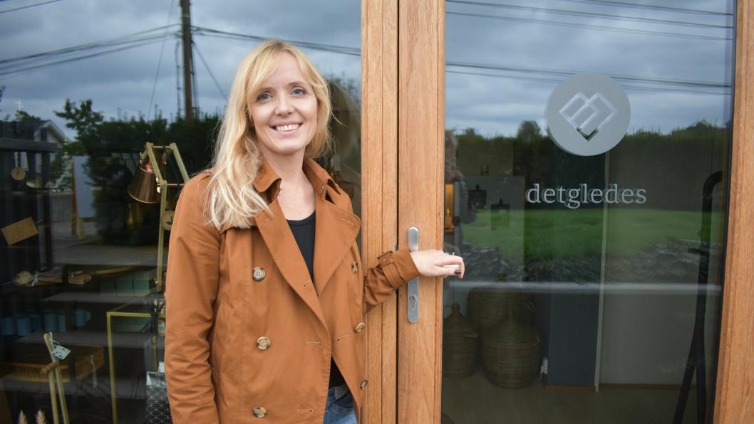 BÅDE OG: Nå kan du handle Marina Iren Tunstad sine fine gaveartikler på nett! I dag, onsdag 8. november, lanserte hun sin nettbutikk.