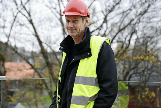 POSITIV: –Tilbakemeldingene på leilighetene er positive, sier prosjekt-leder Anders W. Andersen.