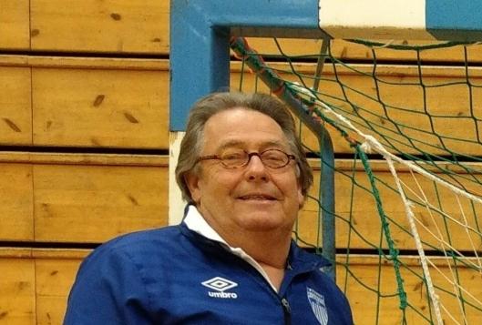 HAR TROEN: Trener Stein Mamen.