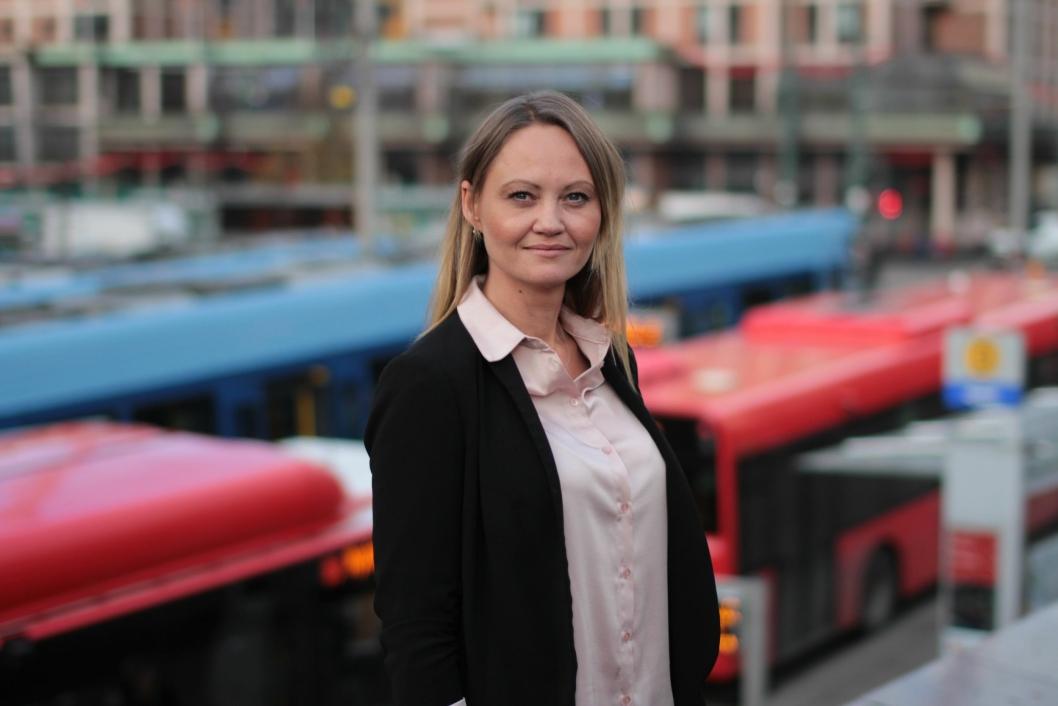 FORNØYD: Cathrine Myhren i Ruter er glad for at det er blitt en løsning.