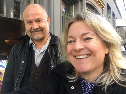 """REGISSØRENE: Her er Trond Jacobsen og Marianne Müller, de to som har regissert """"Kroppen min eier Jeg""""."""