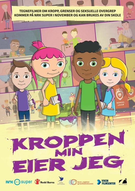 KROPPEN MIN EIER JEG: Dette er plakaten til serien.
