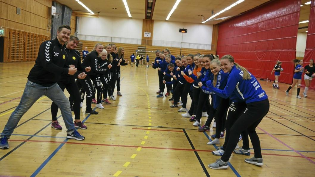 GLEDER SEG: Både Kolbotn og Oppegårds A-lagsdamer gleder seg stort til helgens oppgjør i tredjedivisjon
