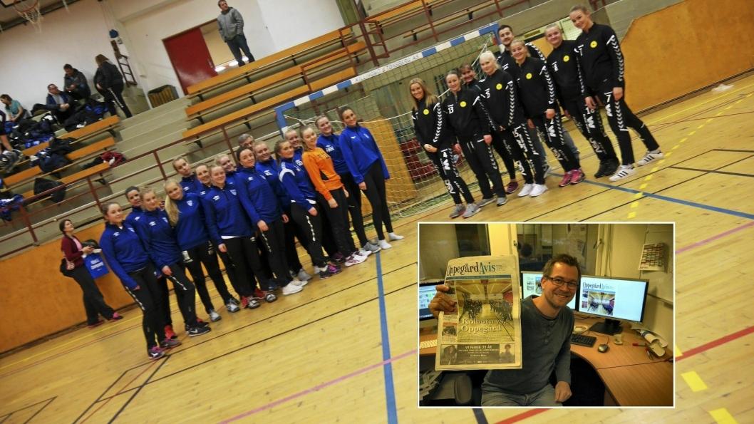 ANALYSERER: Oppegård Avis-redaktør og håndball-entusiast Anders Nordheim Dahl synes det er vanskelig å tippe noen vinner.