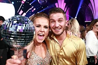 Hurra!!! Helene vant Skal Vi Danse!