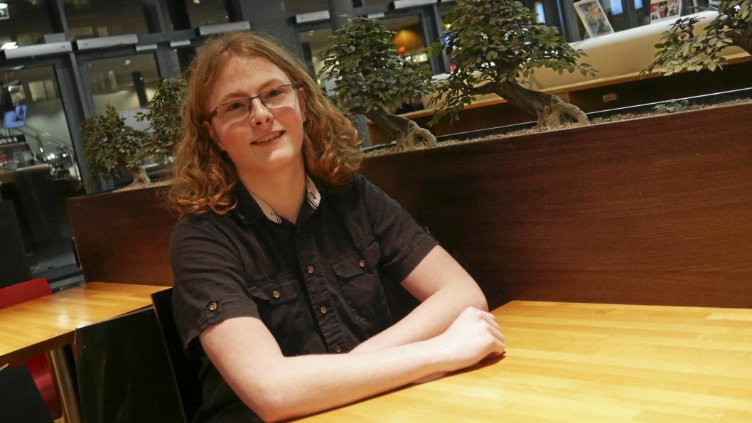 KLATRER TIL TOPPS: Simen Bondevik tar steget opp trappene i KrFU, og er nå ny fylkeslagsleder i ungdomspartiet.