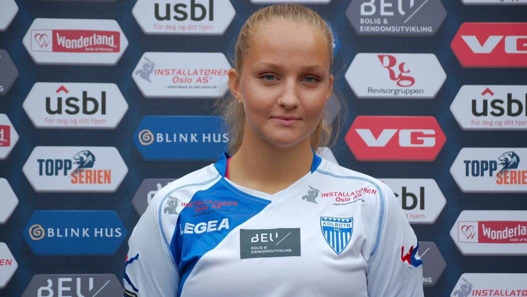 TALENT: Jenny Norem er et av Norges største fotballtalenter for tiden.