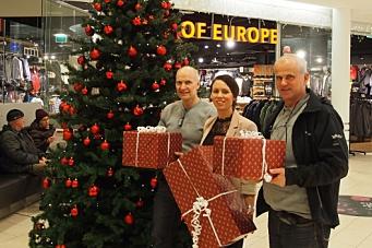 – Ja, vi handler lokalt til jul!