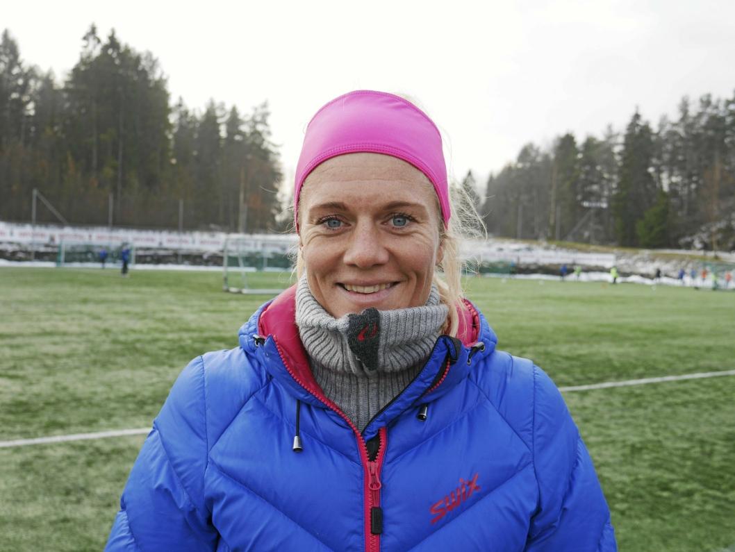 FOTBALLDRONNING: Mesteparten av sin aktive karriere har Solveig Gulbrandsen (38) spilt på Kolbotn.