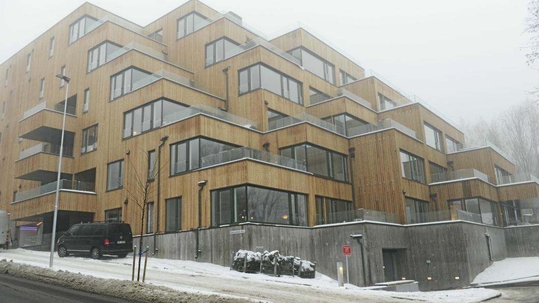 HJEM TIL JUL: Mange av de som har kjøpt leiligheter i Hengene Hage på Kolbotn, flytter inn før jul.
