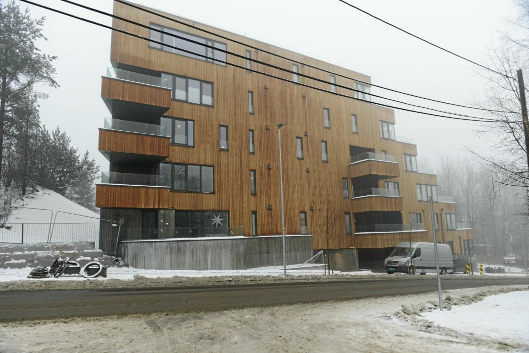 FLOTTE LEILIGHETER: De nye leilighetene i Ormerudveien er flotte og se på, og nå er det meste klart i Hengende Hage.