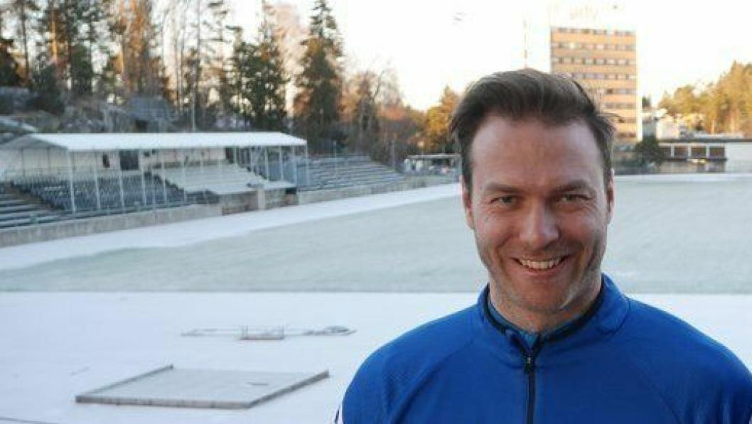 GLEDER SEG TIL KAMPER: Det blir først i andre serierunde at Kolbotn har hjemmekamp, men trener Knut Slatleim gleder seg!