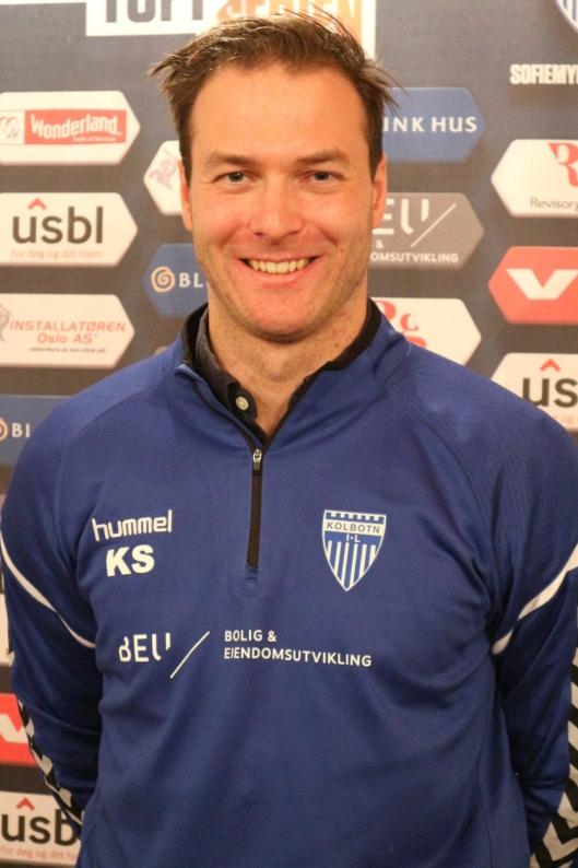 GLAD: Trener Knut Slatleim er fornøyd etter helgens serierunde.