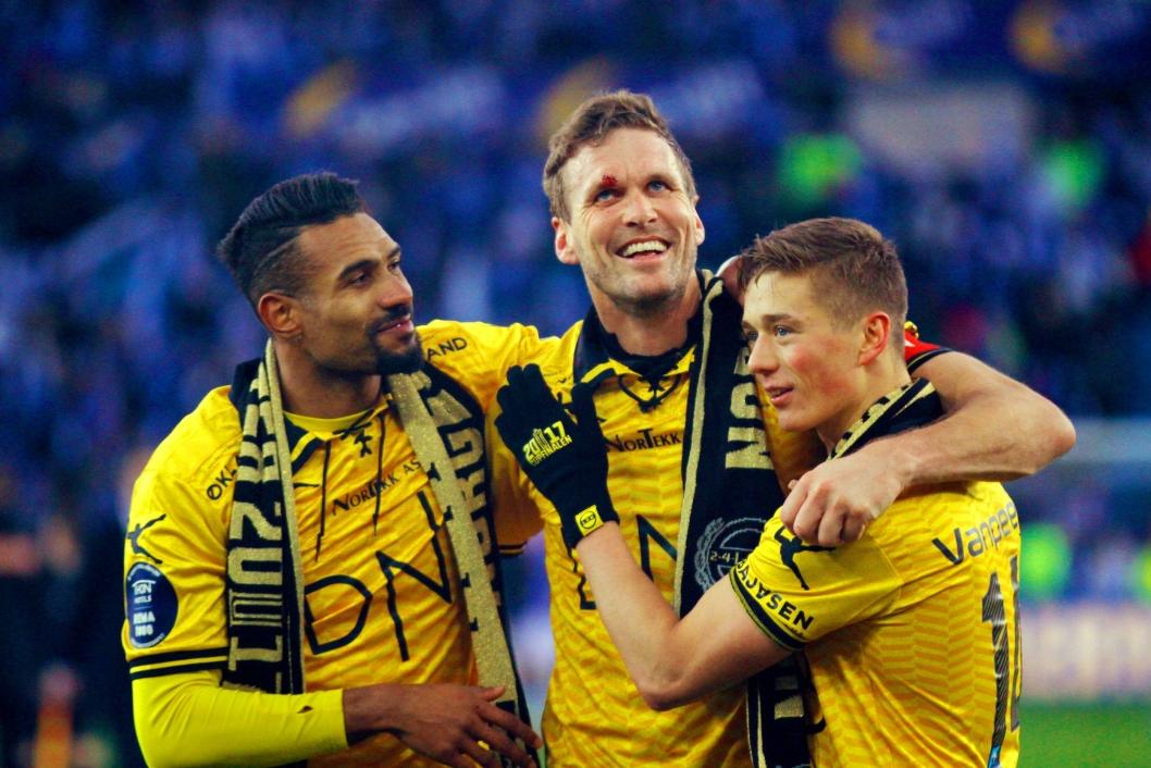 CUPFINALEHELT: Frode Kippe imponerte alle under cupfinalen.