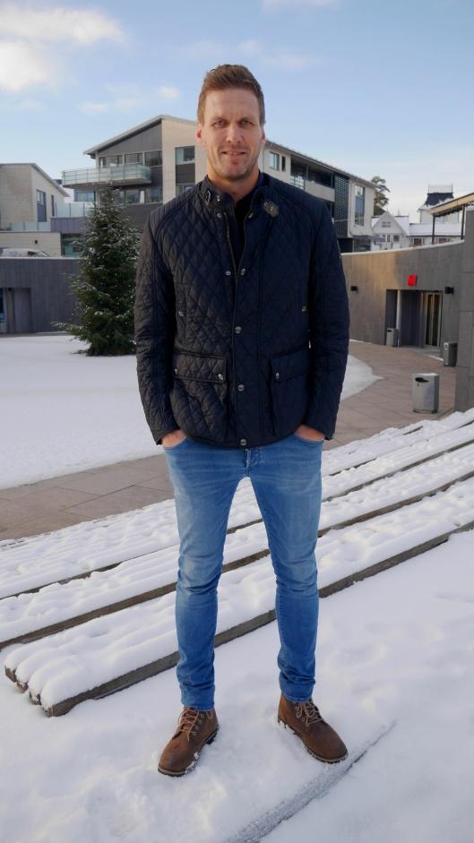 HJEMME: Det er her på Kolbotn Frode Kippe virkelig er på hjemmebane. Foto: Eskil Bjørshol.