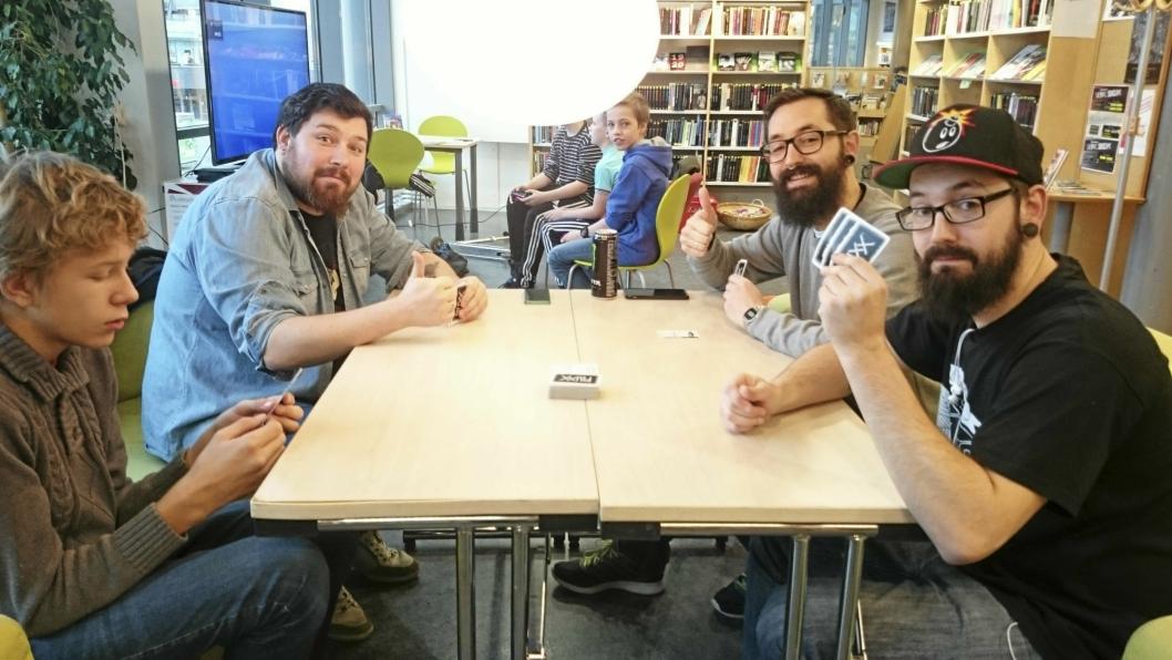 POPULÆRT: Brettspillkvelder er en av de suksessrike arrangementene som biblioteket arranger.