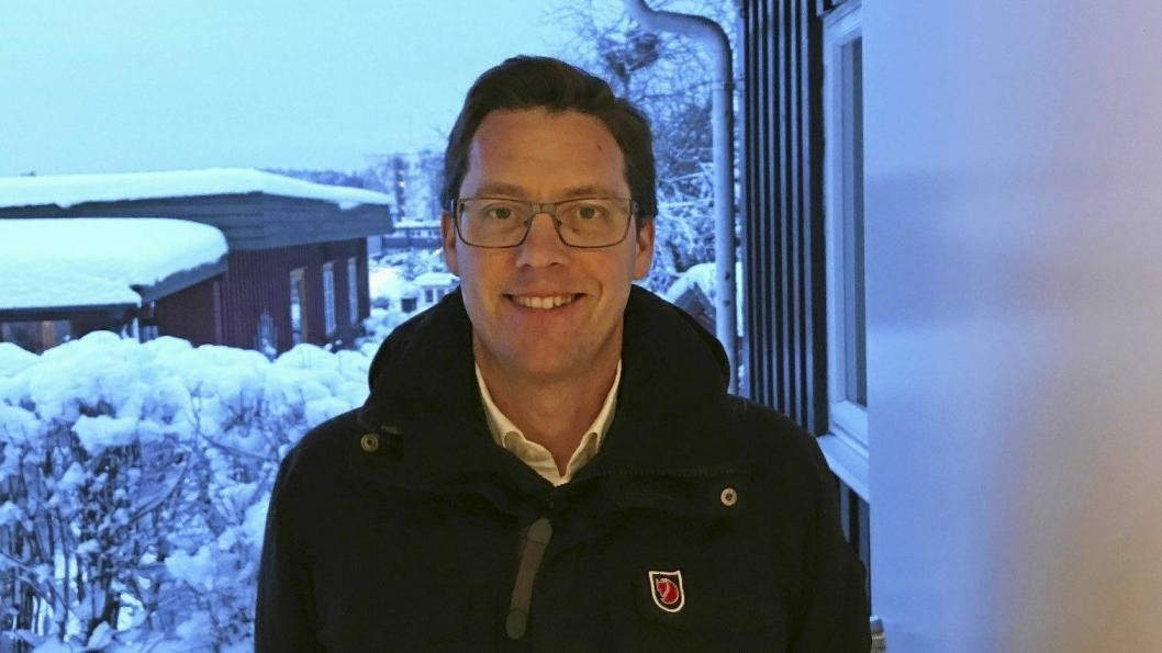 NY LEDER: Håkon Gulbrandsen er ny leder av Oppegård SV.