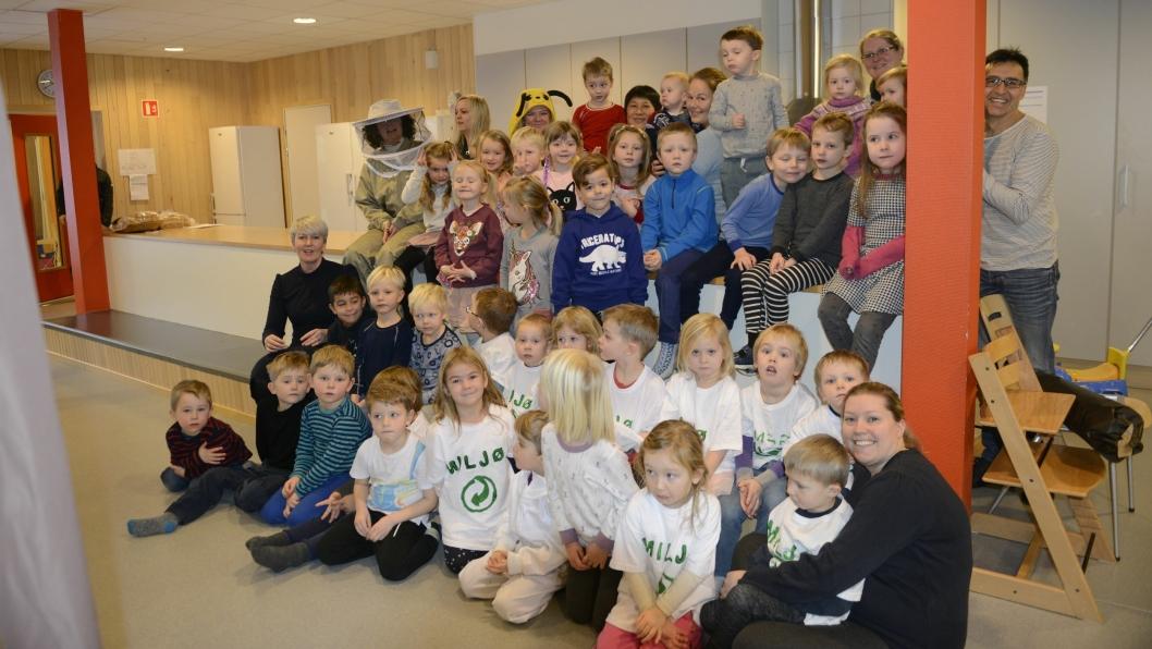MILJØBARNEHAGE: Hareveien barnehage på Tårnåsen er veldig opptatt av miljøet.