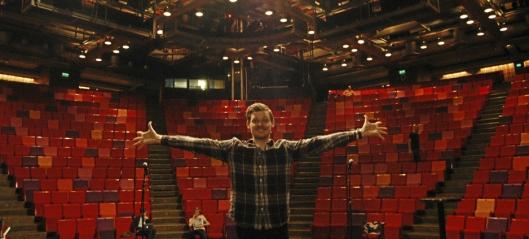 Grease-premiere for Espen B. Kristoffersen!