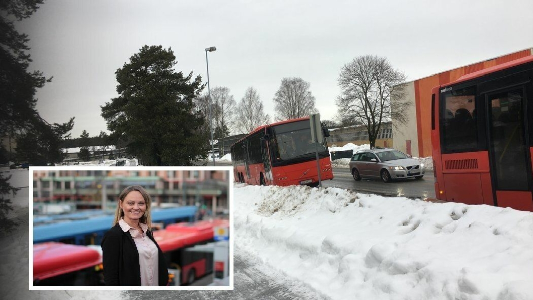 SVARER: Mange har lurt på hvordan de ter mulig med så mange avkjøringer på så kort tid med busser, og hvorfor de stamper på glatta. Cathrine Myhren i Riter (innfelt) svarer i denne artikkelen.