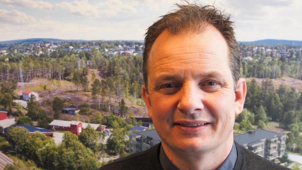 BRUK TID: Bent André Norderhaug råder kjøpere til å være grundige i valg av bolig. Han gleder seg dog over at Centralen på Myrvoll er et prosjekt som ser ut til å gjøre det godt i årets boligmarked.